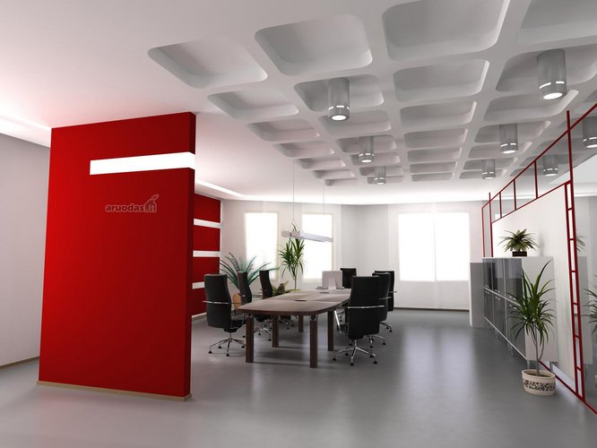 Raudona skyriamoji siena