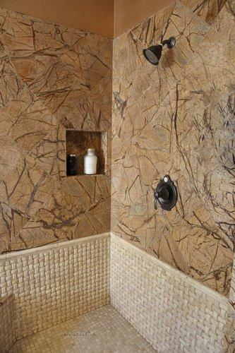 Originali vonios kambario sienų tekstūra