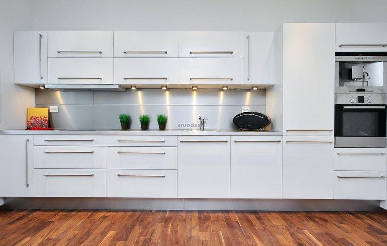 """""""žalios"""" virtuvės dizainas"""
