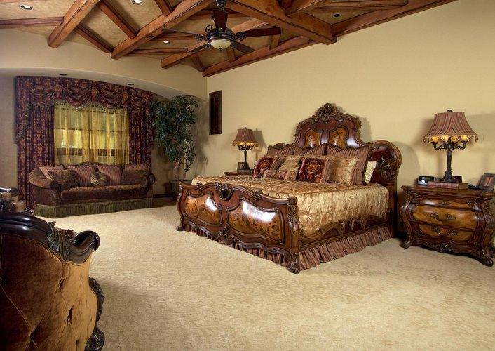 Viduramžių prabanga miegamajame