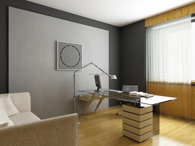Modernaus dizaino darbo kambario interjeras