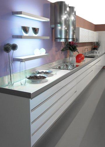 Industrinis stilius virtuvėje