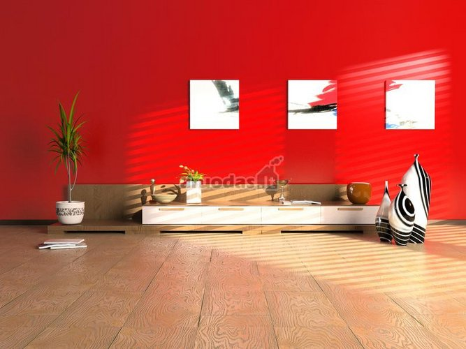 Raudona siena
