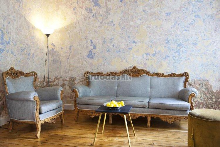Originalus sienos dizainas