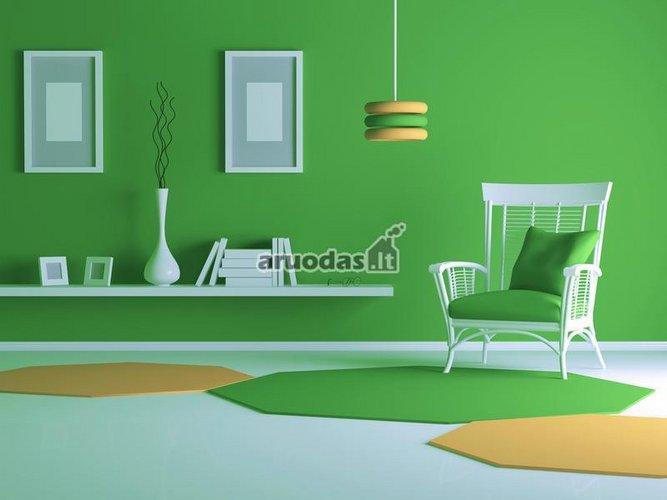 žalios svetainės dizainas