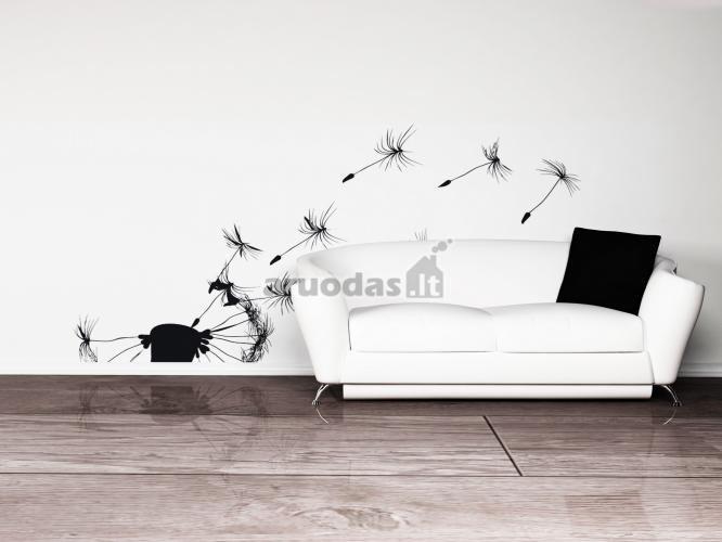 Juoda - balta moderni minimalistinė svetainė