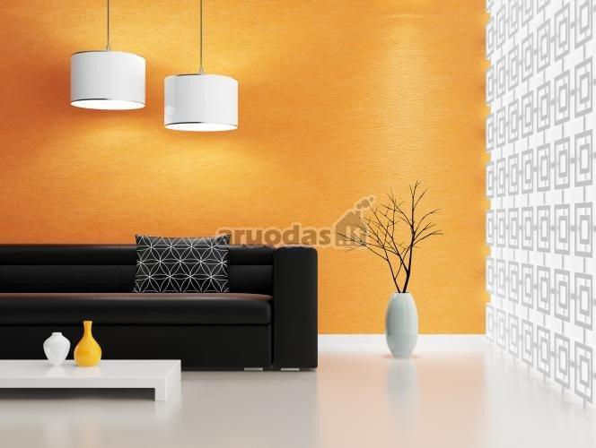 Oranžinės spalvos tapetas