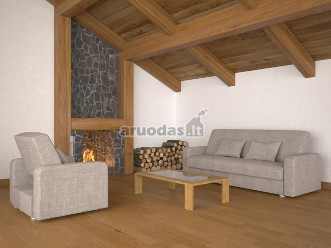 Medinė lubų konstrukcija