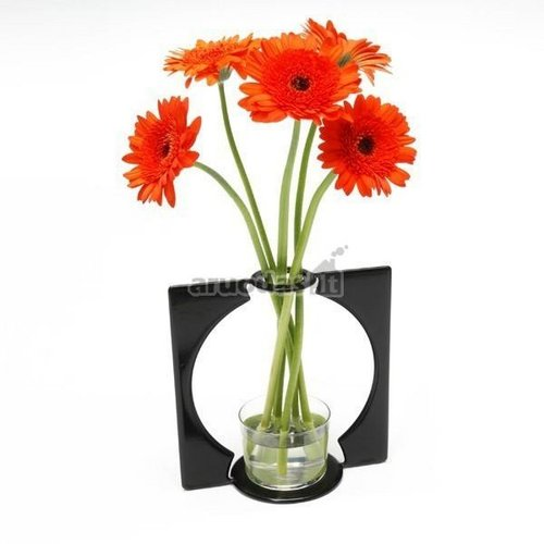 Vaza, įrėminta vazos formos rėmelyje