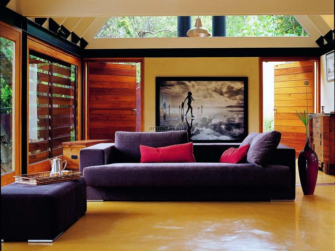 Kambario akcentas - modernus nespalvotas paveikslas