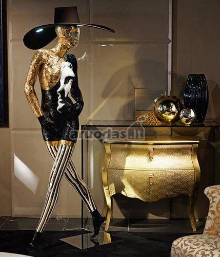 Auksinė moters statulėlė