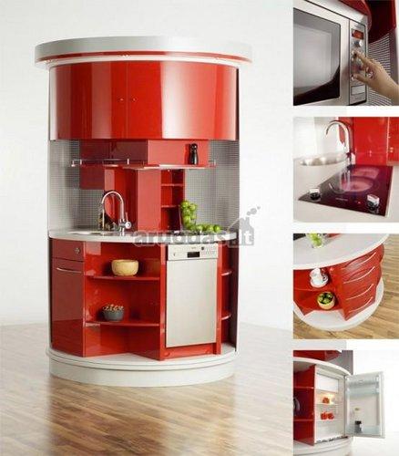 Virtuvės komplektas nedideliai virtuvei