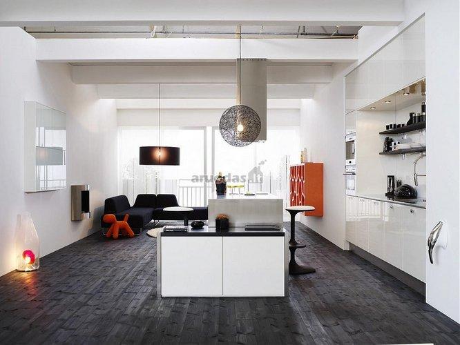 Skandinaviško stiliaus 1 kambario butas