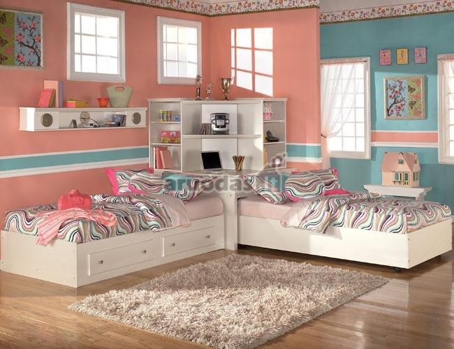 Kompaktiškas vaikų kambarys