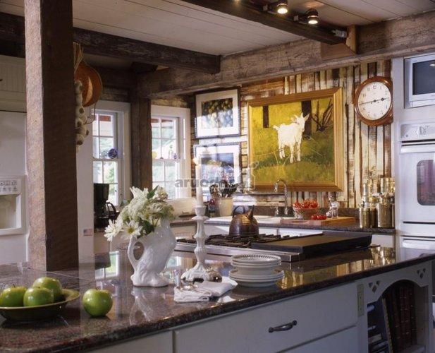 Virtuvė country stiliumi