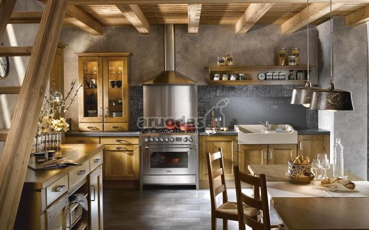 Jaukus virtuvės interjeras