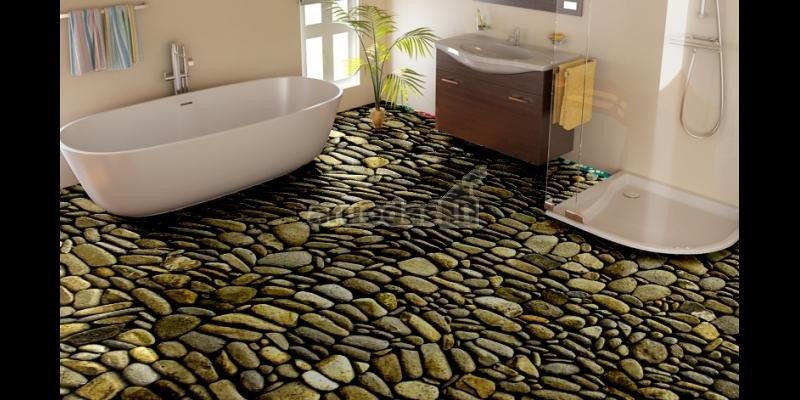 Vinilinės grindys - akmens imitacija