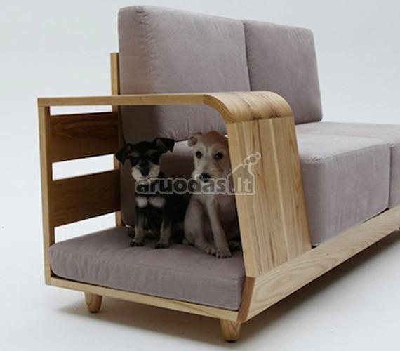 Sofa, pritaikyta augintiniui