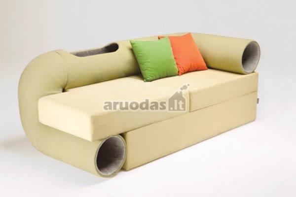 Sofa - žaidimimų aikštelė augintiniui