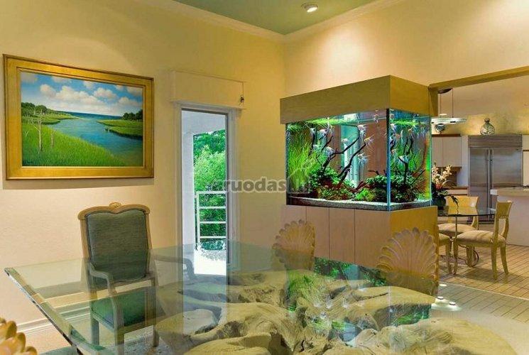 Originalios namų idėjos - akvariumas