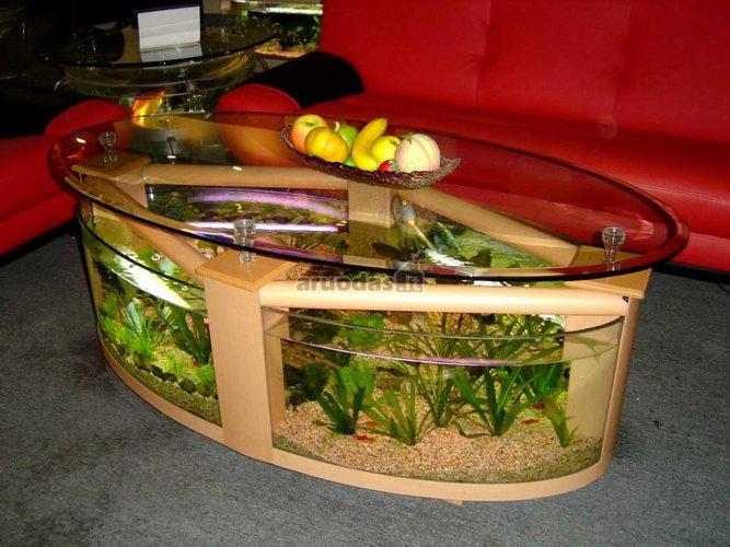 Akvariumas - staliukas