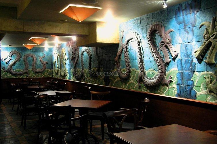 Restorano interjeras