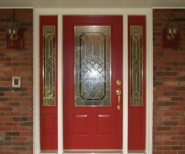 Ryškios lauko durys