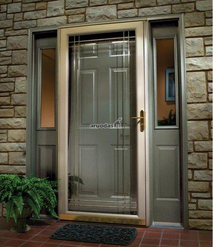Modernios lauko durys