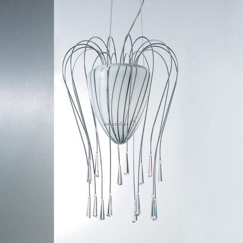 Originalios medūzos formos šviestuvas