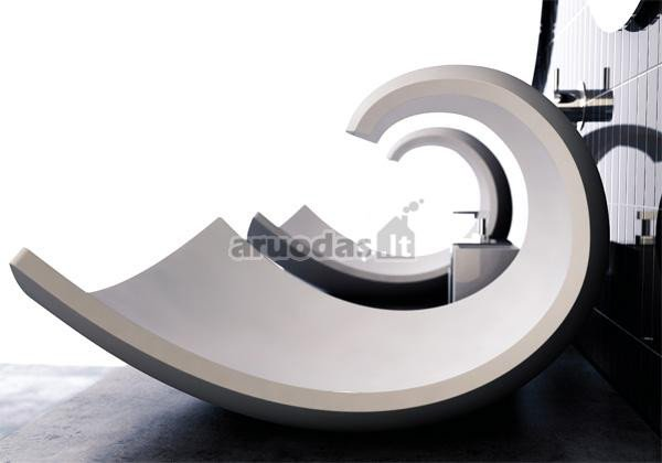 Modernaus stiliaus kriauklė