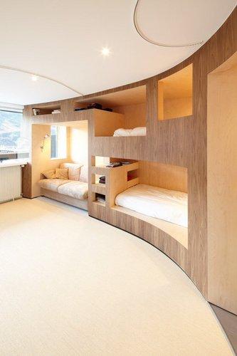 Idėja talpiam miegamajam