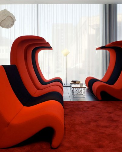 Originalus ir unikalus sofos dizainas: modernu