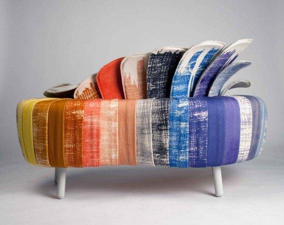Originalus ir unikalus sofos dizainas