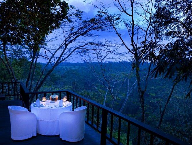 Romantiška valgomojo erdvė