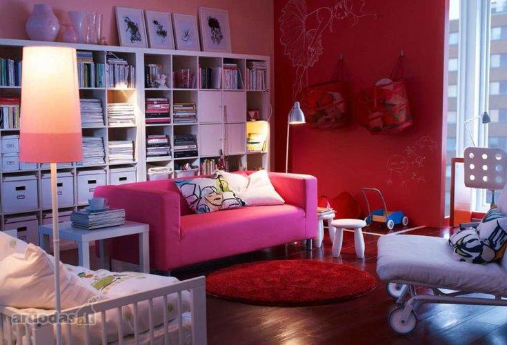 Ryškus vaikų kambarys