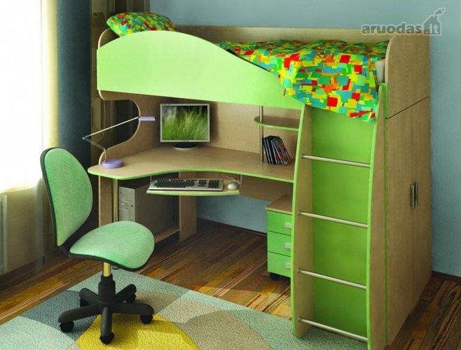 Taupantis erdvė berniuko kambarys