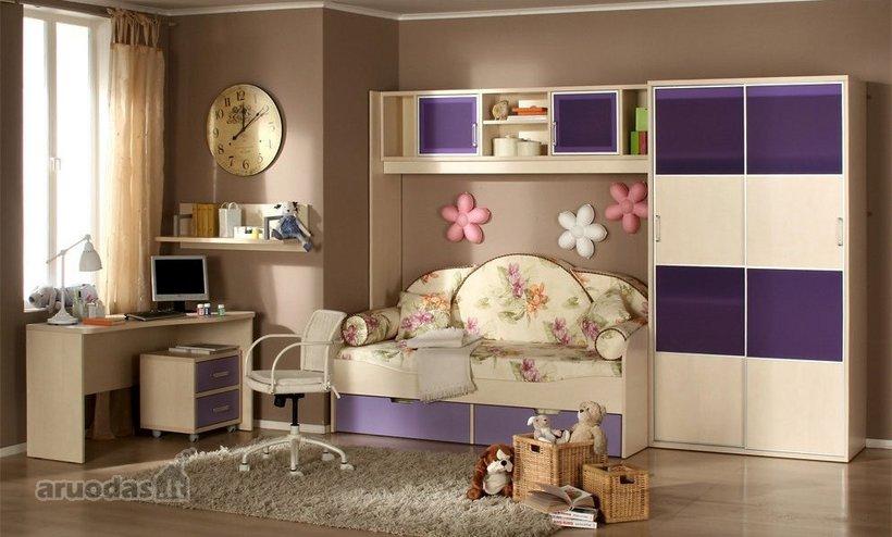 šiltas ir jaukus kambario dizainas