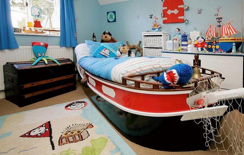 Laivo formos lova