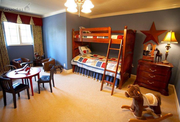 Kompaktiškas vaikų kambario išplanavimas