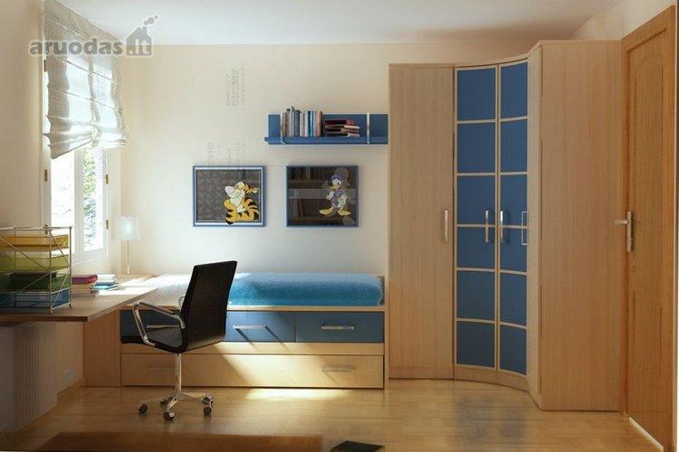 Modernaus paauglio kambario dizainas