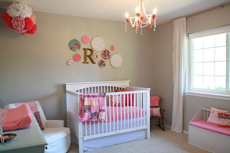 Namų sąlygomis dekoruotas vaikų kambarys