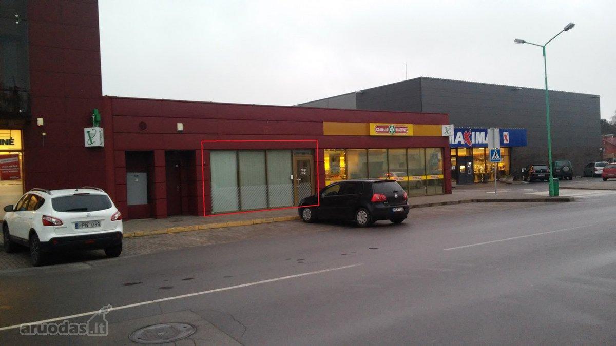 Išnuomojamos komercinės patalpos adresu