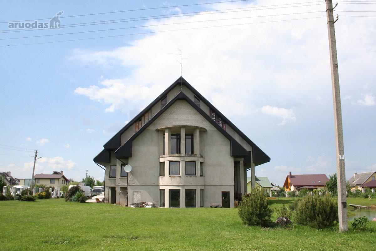 Kauno r. sav., Ringaudų k., Graužės g., mūrinis namas