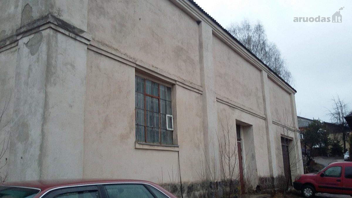 Vilnius, Naujoji Vilnia, Pramonės g., sandėliavimo, gamybinės, kita paskirties patalpos nuomai