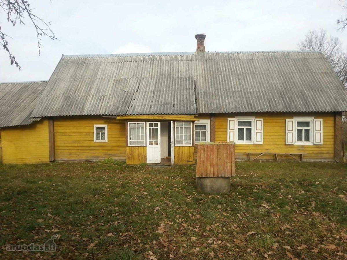 Švenčionių r. sav., Karklinės k., Karklinės g., medinis namas