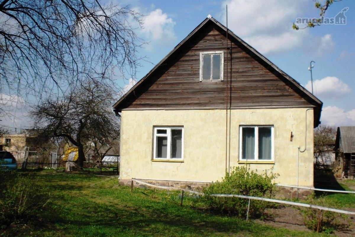 Radviliškio r. sav., Radviliškio m., Vaižganto g., mūrinis namas