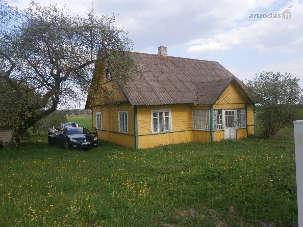 Varėnos r. sav., Žilinų k., Mokyklos g., medinis namas