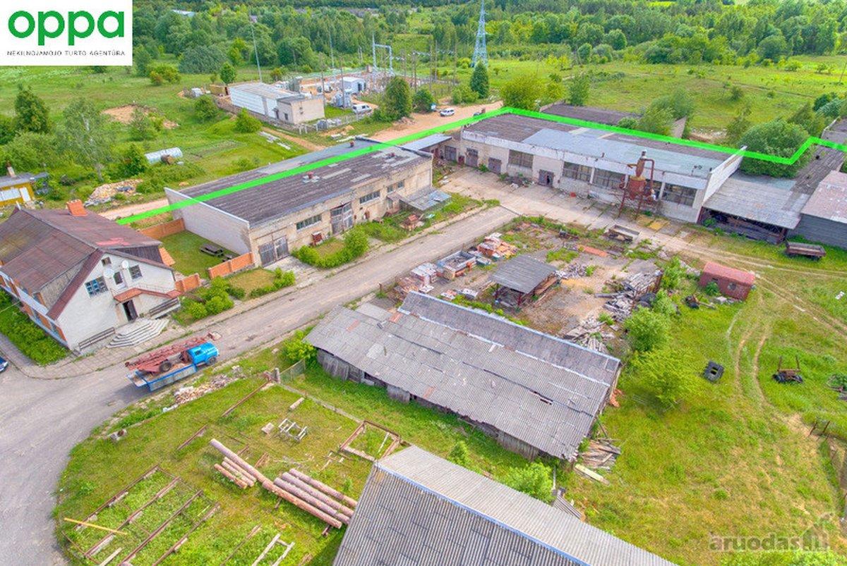 Parduodamas gamybinių patalpų kompleksas