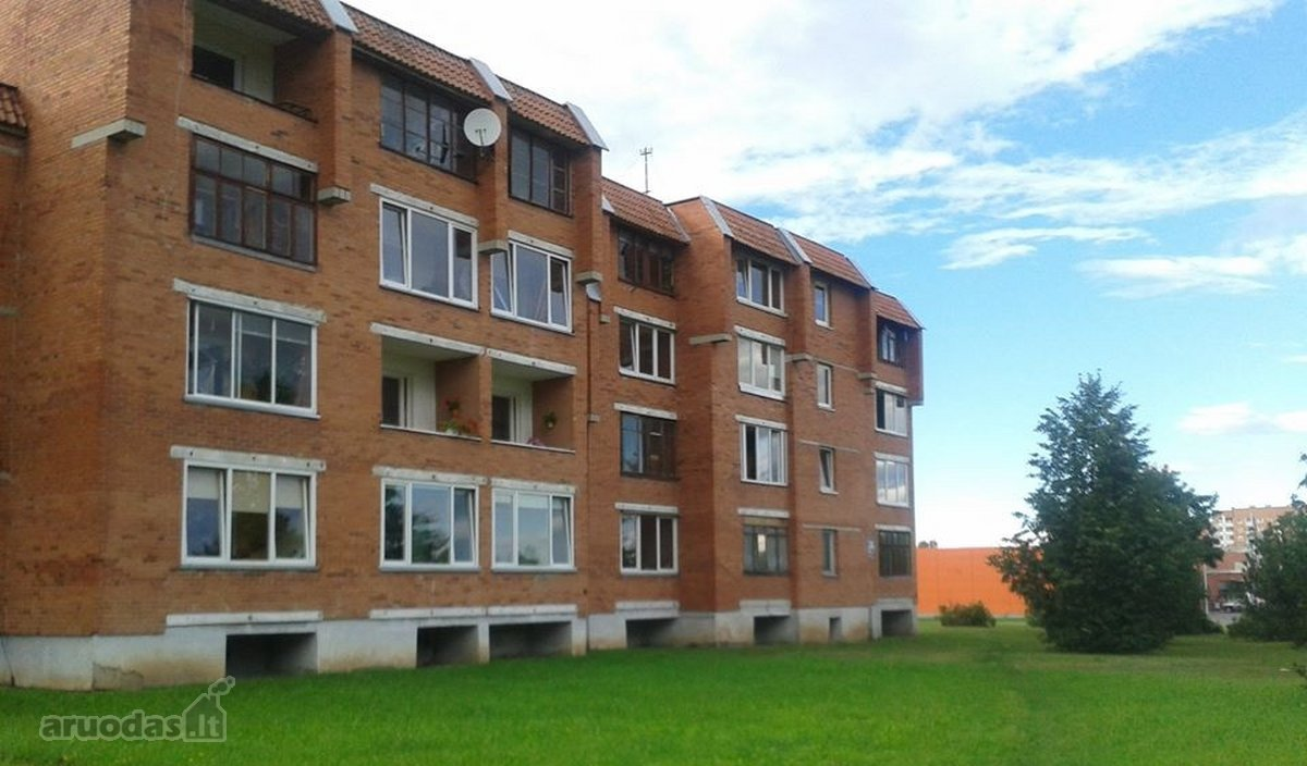 Kaišiadorių r. sav., Kaišiadorių m., Gedimino g., 2 kambarių butas
