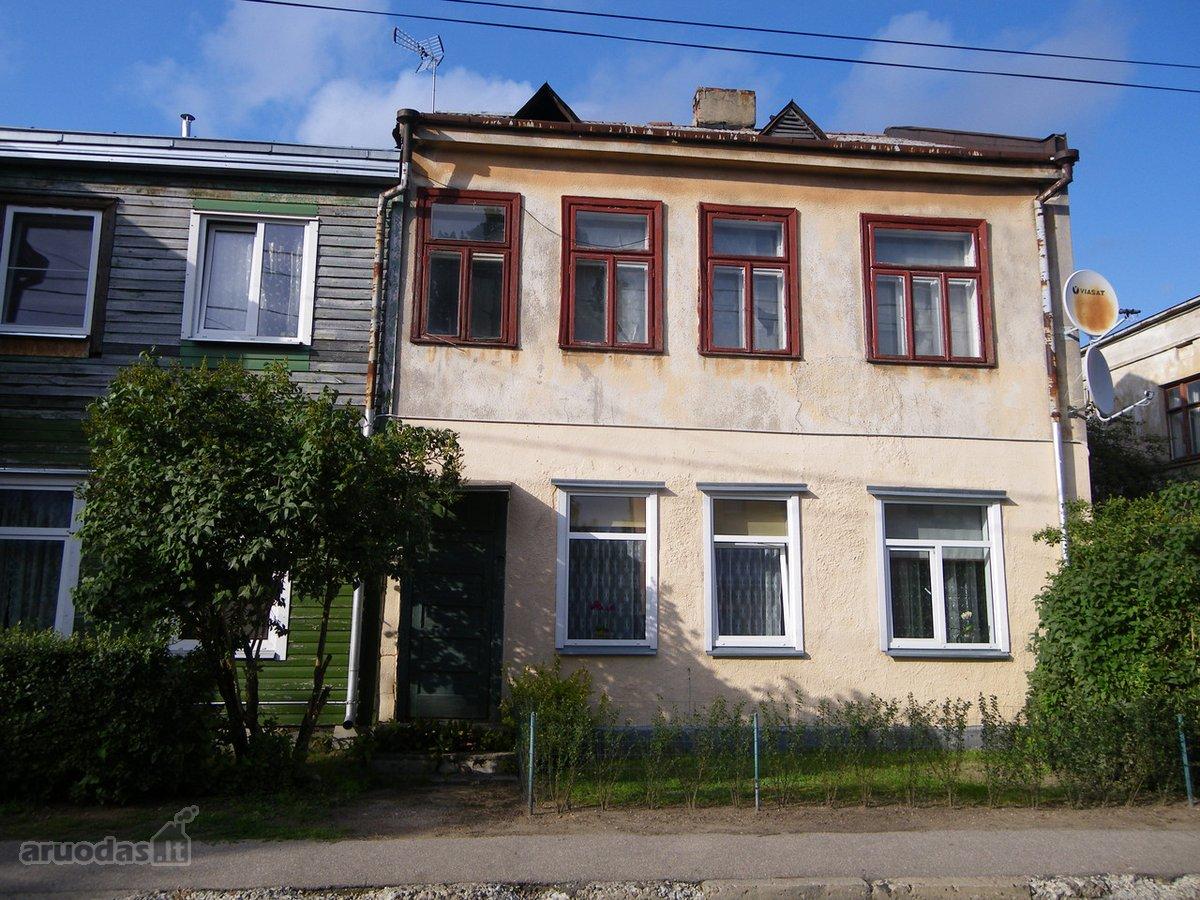 60 kv.m butas Lietuvių g. 12, karkasiniame name